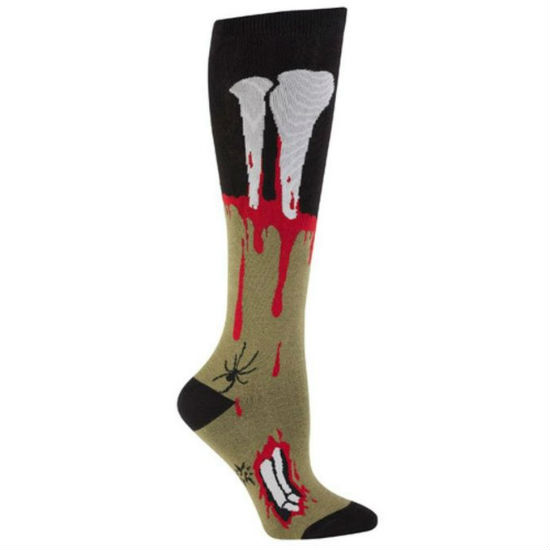 zombie knee high socks