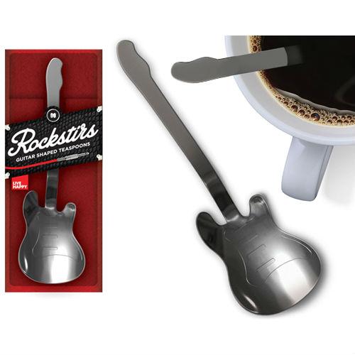 Guitar tea spoon