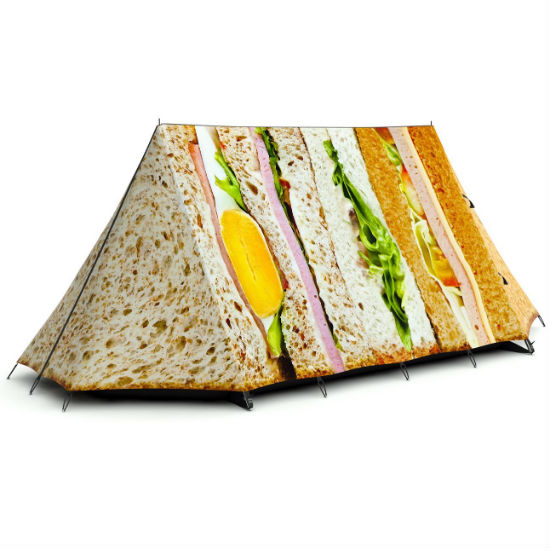 club sandwich tent