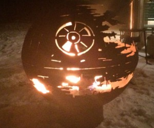 Now you can have the smoldering wreckage of what was one the Death Star in your backyard!