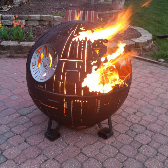 Death Star Fire Pit Shut Up And Take My Money