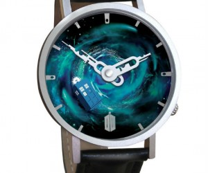 Doctor Who Vortex Watch – Wear it so you're not late on your travels through time and space.