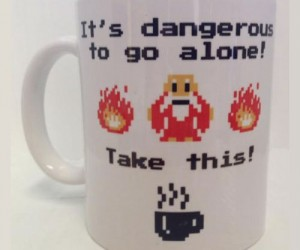 It's dangerous to go alone, you'll need some caffeine first!