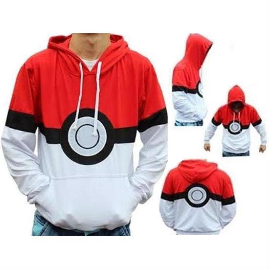 pokemon pokeball hoodie