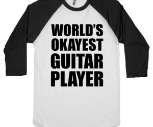 World's Okayest Guitar Player – You're not bad but you're not great either, let all your friends know how you can sorta play that one song by Oasis…  (you know […]