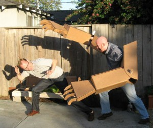 Finally all your dreams of having giant cardboard robot arms can come true!