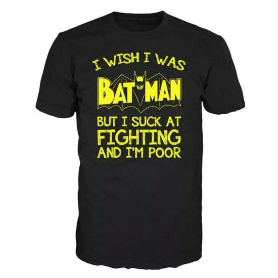 i wish i was batman tee