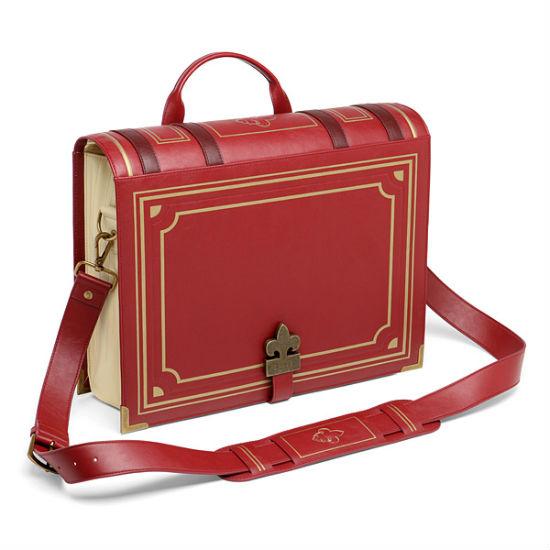 olde book messenger bag