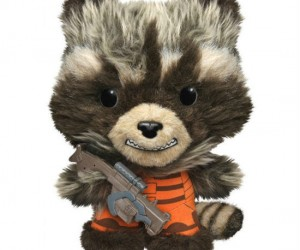 Own your very own little Guardian of the Galaxy with the Rocket Raccoon plush!