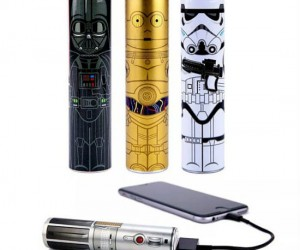 Use the power of the force to charge your phone on the go!