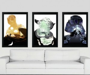 Star Wars Trilogy Poster Set  - You don't have to be a part of the Dark Side to enjoy a nice, steamy, threesome!