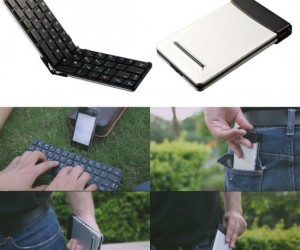 A keyboard that fits right in your pocket!