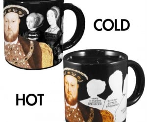 Just add some hot liquid and watch Henry VIII's wives magically disappear!