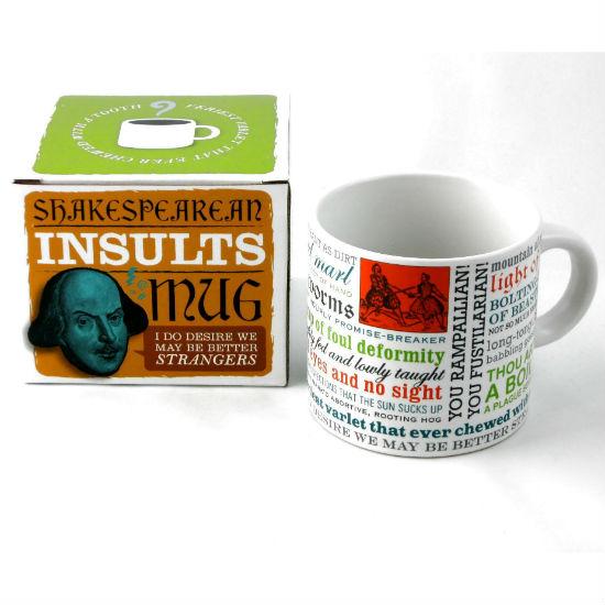 shakespearean insult mug