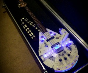 Star Wars Millennium Falcon Bass Guitar – I've found the rebel bass!