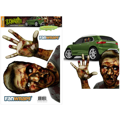 zombie window decal