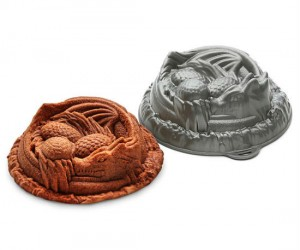 Pre-heat your oven to the temperature of a dragon's breath and bake an awesome cake!