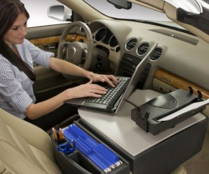 No more waiting until you get to the office to fax in those reports, now you can do it on the drive to work!