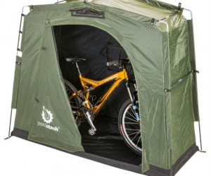 The YardStash is the perfect solution for keeping your bike or other items safe from the elements.