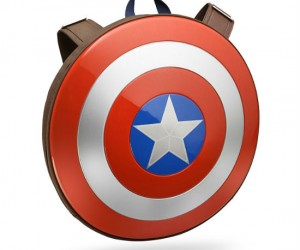 Wear Captain America's shield on your back!