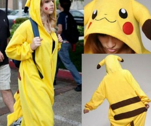 You'll look as cute and cuddly as an actual pikachu!