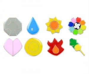1st Generation Kanto Pokemon Badges! Gotta collect 'em all!