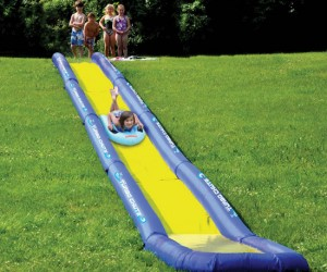 The Turbo Chute  puts your old slip n slide to shame.