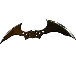 With this piece of the Arkham arsenal on your desk, they'll be no doubt in your office who owns the night.