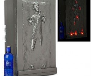 If carbonite can freeze Han Solo, it can definitely keep your drinks cold too!