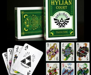 Hylian Court Zelda Playing Cards via SUATMM.com     Legend of Zelda Premium Journal  via amazon.com     Zelda 3d Lenticular Poster via amazon.com     Legend of Zelda Link […]