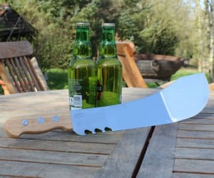 Machete Spatula – Perfect for cooking burgers, cracking open beers, and possibly killing zombies.
