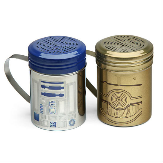r2d2 salt and pepper shakers