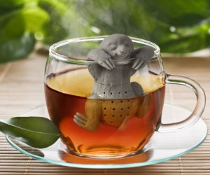 Sloth Tea Infuser – Live fast, brew slow