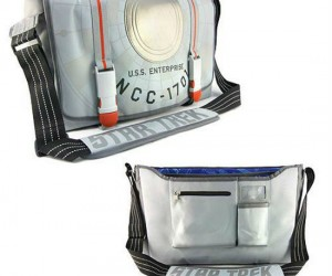 Carry your stuff around with some NCC-1701 styling!