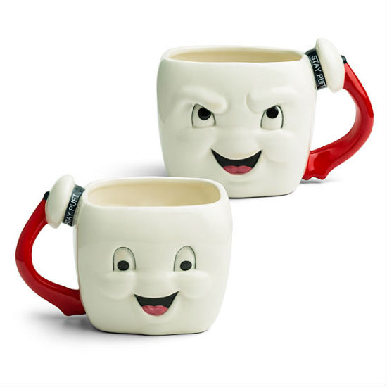 stay puft marshmallow mug