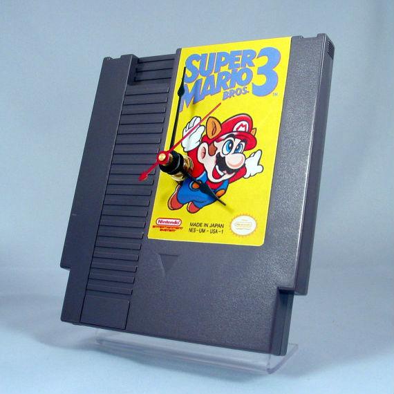 super mario 3 video game clock