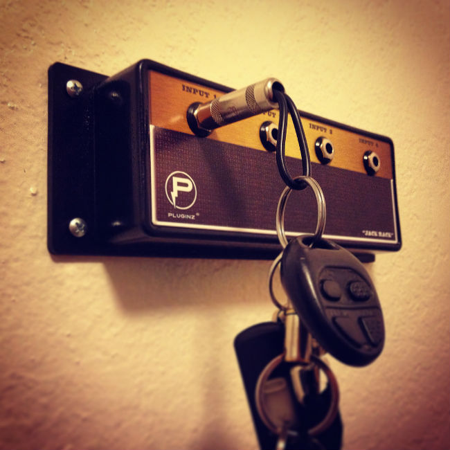 amp styled key holder