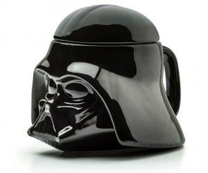 Darth Vader 3d Mug – Keep your beverage safe with a helmet