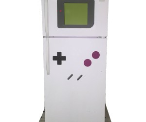 Makes any refrigerator look like your favorite 80′s gaming console!