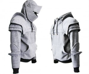 Knights Armor Hoodie! – Who knew being a Knight could be this comfortable.