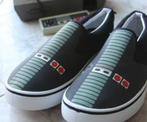 Make your friends jealous of your new 8 bit kicks!