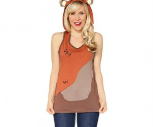 Ladies Ewok hoodie – Look as cute as a furry little Ewok!