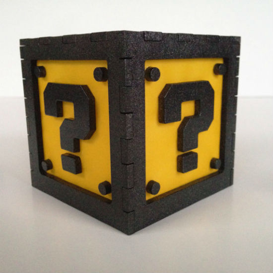 Mario Question Block Light Shut Up And Take My Money