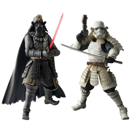 star wars samurai figurines