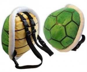 Mario Bros Koopa Shell Backpack – Just don't let anyone step on your back while you're wearing it!