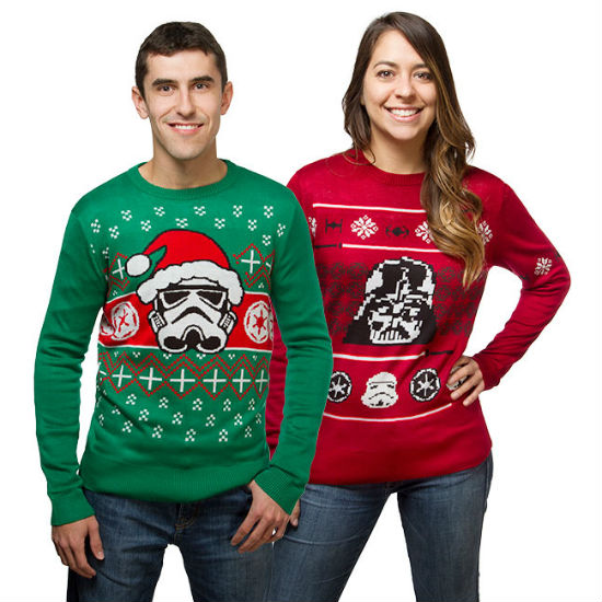 star wars holiday sweaters