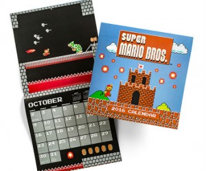 Mario 2016 Calendar – Hang out with Mario all year long!