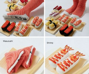 Sushi Socks – The socks that look good enough to eat!