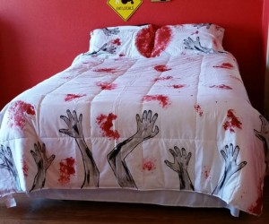 Zombie Bedding – And you thought the monster under your bed gave you nightmares