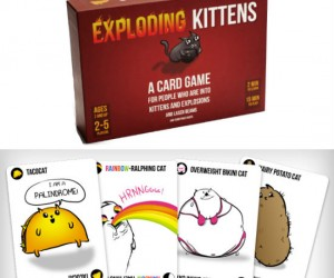 Exploding Kittens Card Game - Exploding Kittens is a card game for people who are into kittens and explosions and laser beams and sometimes goats.